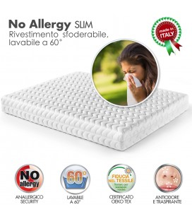 Rivestimento No Allergy Slim Matrimoniale