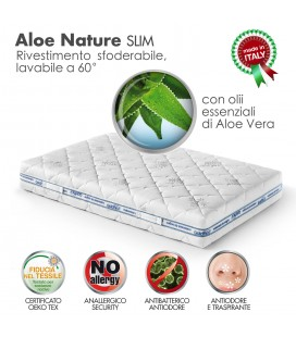 Rivestimento Aloe Nature Slim Matrimoniale