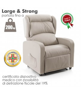 Poltrona Large & Strong 200kg