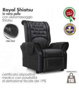 Poltrona Royal Line Relax Massaggio Shiatsu