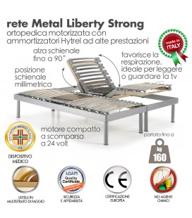 Rete Metal Liberty Strong Motore Matrimoniale