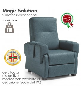 Poltrona Magic Solution Reclinabile Relax