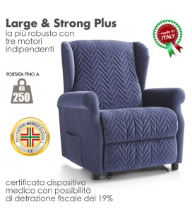 Poltrona Large & Strong Plus 250kg