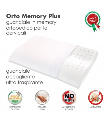 Cuscino Memory Ortomemory Plus
