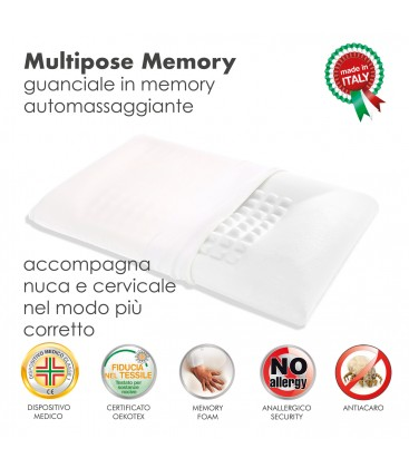 Cuscino Memory Multipose
