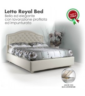 Letto Royal Bed Imbottito