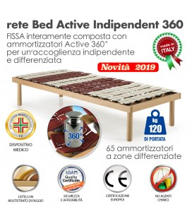 Rete Bed Active Indipendent 360 a doghe Singola