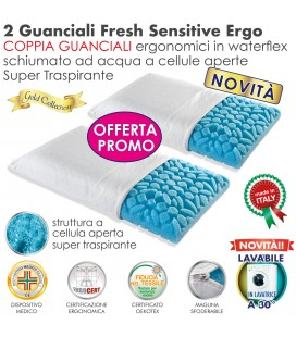 Coppia Cuscini Fresh Sensitive Ergo