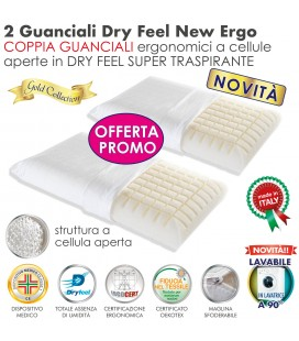 Coppia Cuscini Dry Feel New Ergo