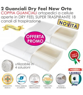 Coppia Cuscini Dry Feel New Orto