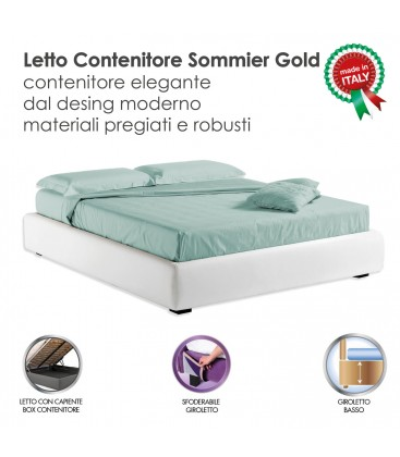 Contenitore Sommier Gold