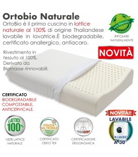Guanciale Lattice Ortopedico Bio OrtoBio