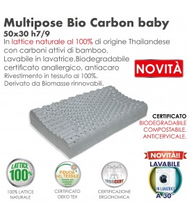 Guanciale Lattice Multipose Bio Baby Carbon