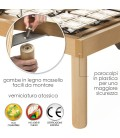 Rete Bed Active Indipendent 360 a doghe Matrimoniale