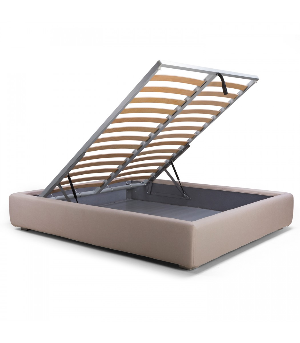 Letto sommier gold contenitore - Letto sommier 140x200 ...