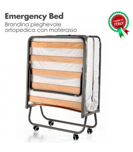 Emergency Bed Brandina Pieghevole Ortopedica