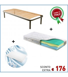 Kit Memory Solution 4 + Rete Gelsomino + Omaggio Guanciale
