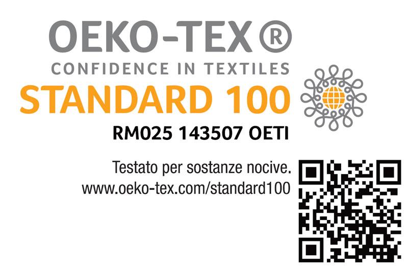 Certificazione Oeko-Tex Classe 1 Standard 100 Goldflex